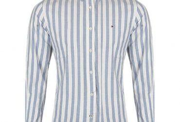 Tommy Hilfiger Men's Thflex Stripes Long-sleeve Shirt