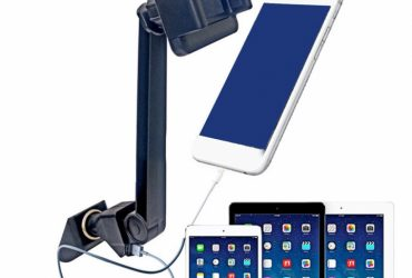 Car Phone Mount Universal USB Phone Holder