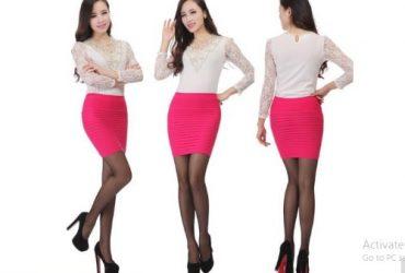BL Women's Level Patterns Mini Hip Skirt