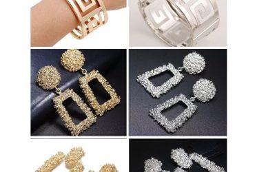 Fashion Jewelry 6 In 1 Trendy Statement