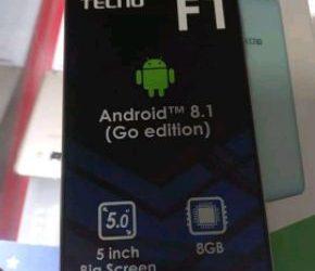 New tecno f1