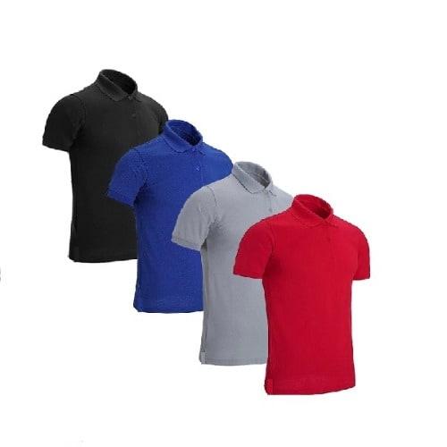 Men's 4-in-1 Short Sleeve Polo T-shirt