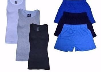 Men's Bundle Of Singlets & Boxers