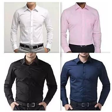 Fashion By LV Men's Shirts Bundle