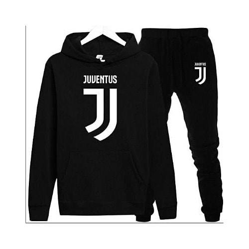 Juventus Print Black Up And Down