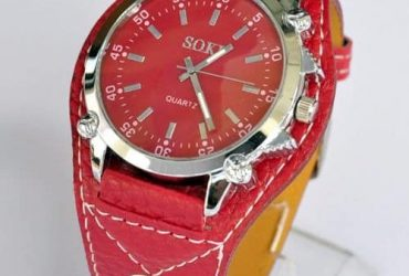 Wrist Watch – Red