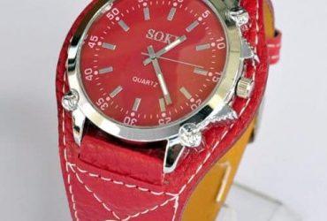 Wrist Watch – Red