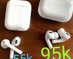 Airpod 1 and 2 and also airpod pro