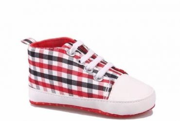 Kinder Lace-up Baby Sneakers