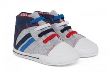 Hi-Top Pram Shoes