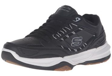 Skechers Sport Men's Monaco Tr Leather Sneakers