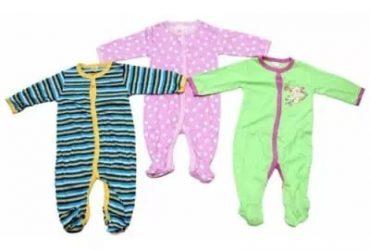 Baby Sleep Suit – Set Of 3