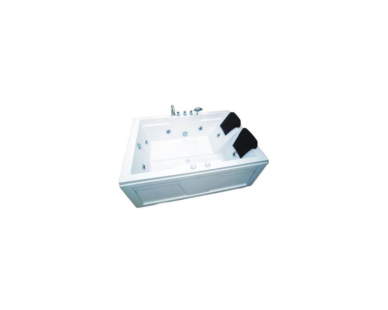 NESTA DOUBLE JACUZZI WITH SEAT 1218-1