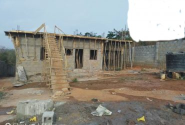 Full Fence 2 Plot Of Land With Uncompleted Building For Sale