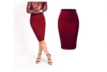 Corporate Midi Bodycon Pencil Skirt