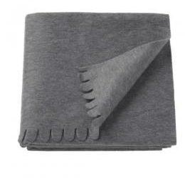 Ikea Polarvide Grey Throw/Blanket, 130×170 Cm