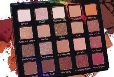 20 Multi Colour Eye Shadow Palette