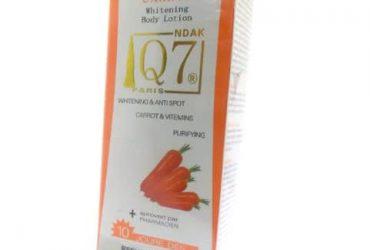 Q7 Carrot Whitening Body Lotion