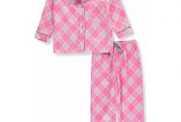 Little Girls' Flannel Pyjamas …