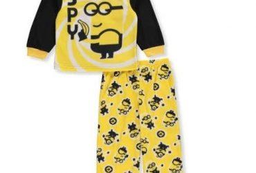 Despicable Me Kids' Microfleece Pyjamas