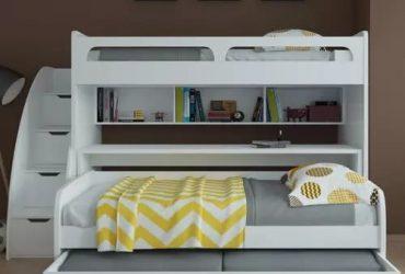Ibks Bel Mondo Twin Bunk Bed With Trunk