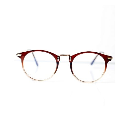 Unisex Round Retro Optical