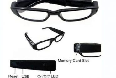 Eye Glasses – Spy Camera – Black