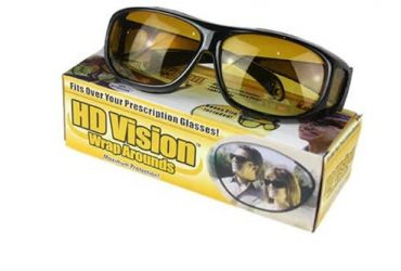 2-In-1 HD Night Vision Driving Eyegla