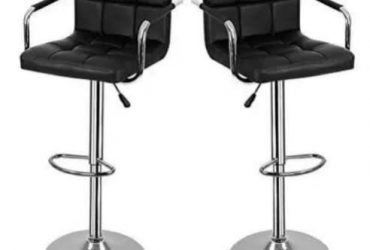 Bar Stools With Arm And Back Rest – 2…