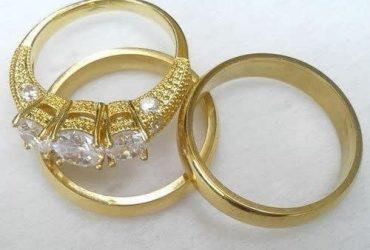 Wedding & Engagement Ring Set