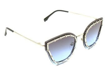 Cat-Eye Studded Sunglasses
