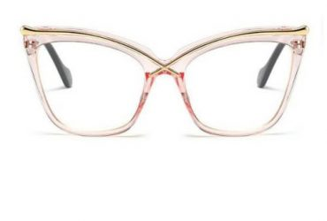 Oversized Square Cat Eye Glasses
