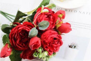Artificial Rose Bouquet Flowers
