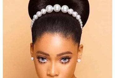 Fashion Woman Fancy Bead Hair Band