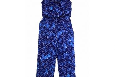 Women's Print Sleeveless Jumpsuit