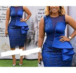 GORGEOUS BLUE GOWN FOR WOMEN