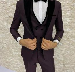 RITZY PLAIN MEN'S 3 PIECE SUIT