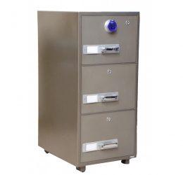 Ultimate 3-Drawer Fireproof Cabinet – Digital Lock