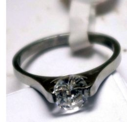 Queen Crown Engagement Ring (ZP)