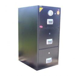 Global 3-Drawer Fireproof Cabinet(Digital Lock)