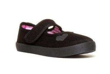 Walkright Touch Fasten Plimsoil Shoe