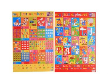 LUV Early Learning Wall Chart Pack – …
