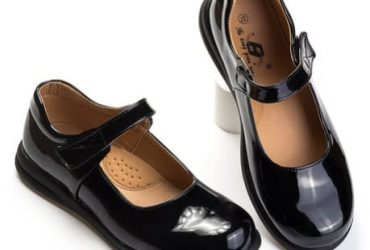 AWW Patent Girl Shoes- Black