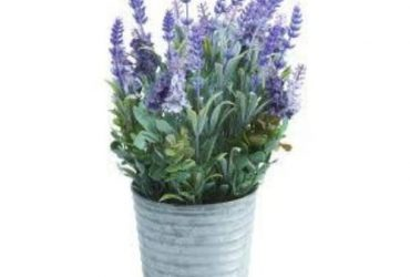 High Potted Artificial Lavender …