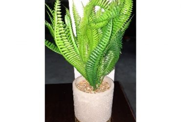 Artificial Flower Vase Console Decor