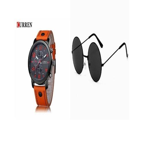 Curren Unisex Wrist Watch & Vintage R…