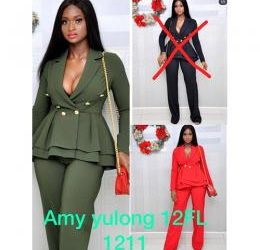 Private: LADIES EXTRAVAGANT FITTED CORPORATE TROUSER AND BLOUSE