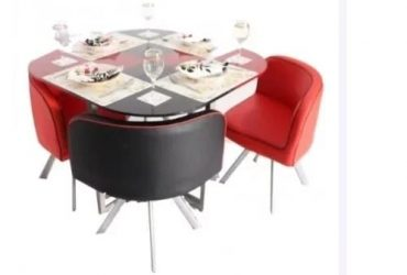 Round Compact Dining Table