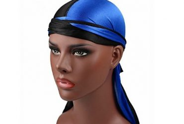 Fashion By LV Durag – Blue & White