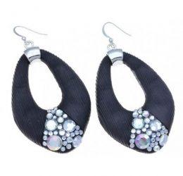 Black Earrings (KLS)